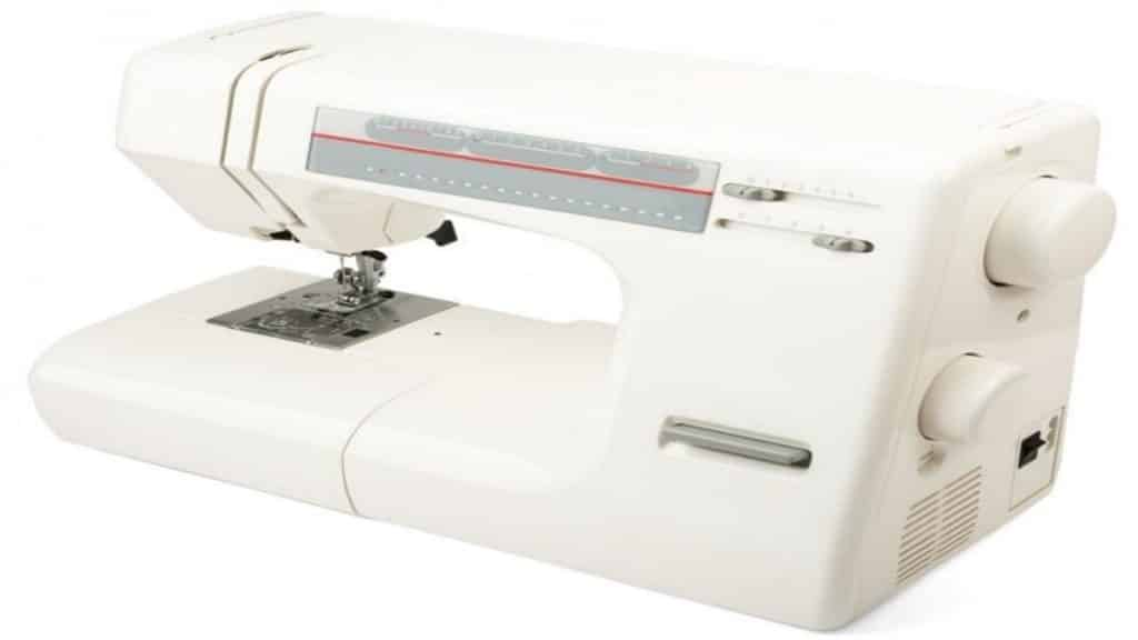 White Sewing Machine